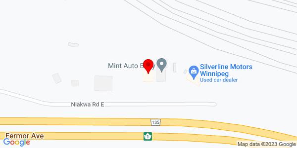 Google Map of +1585+Niakwa+Road+East+Winnipeg+MB+R2J+3T3