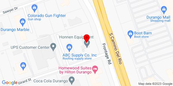 Google Map of +16+Girard+Street+Durango+CO+81303