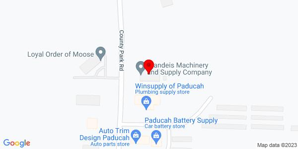 Google Map of +160+County+Park+Road+Paducah+KY+42001