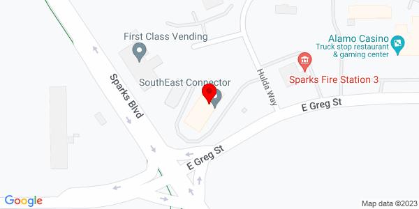 Google Map of +1650+East+Greg+Street+Sparks+NV+89431