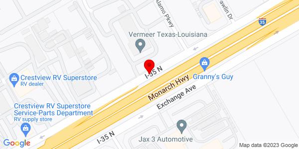 Google Map of +16593+Interstate+35+N+San+Antonio+%28Selma%29+TX+78154