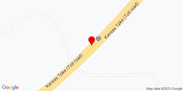 Google Map of +16595+N+Interstate+Hwy+35+Elm+Mott++%28Waco%29+TX+76640