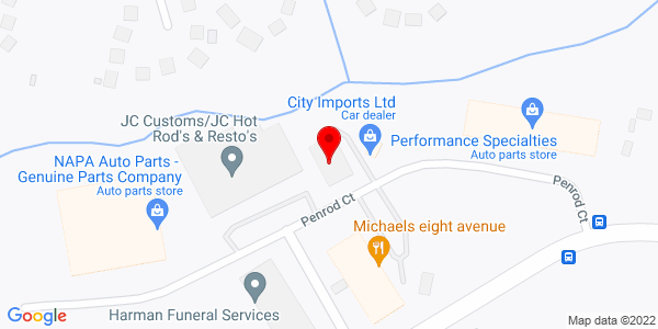 Google Map of +166+Penrod+Court+Glen+Burnie+MD+21061
