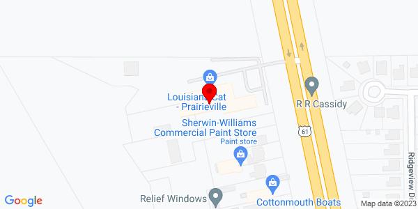 Google Map of +16613+Airline+Hwy+Prairieville+LA+70769