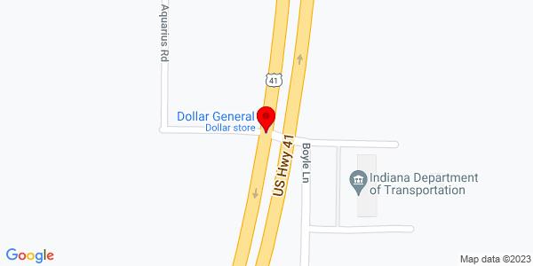 Google Map of +17000+Highway+41+North+Evansville+IN+47725