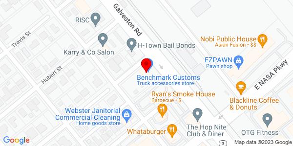 Google Map of +17700+Highway+3+Webster+TX+77598