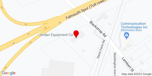 Google Map of +18+Blackstrap+Road+Falmouth+ME+04105