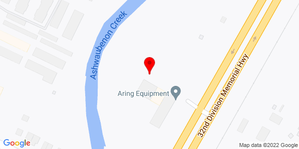 Google Map of +1800+North+Ashland+Avenue+DePere+WI+54115