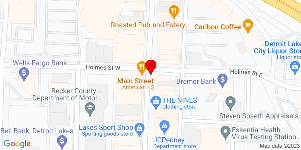 Google Map of +18323+Hwy+21+Detroit+Lakes+MN+56501
