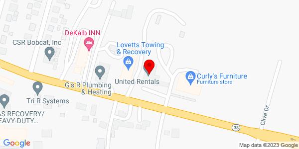 Google Map of +1845+E+Lincoln+Hwy+Delkalb+IL+60115