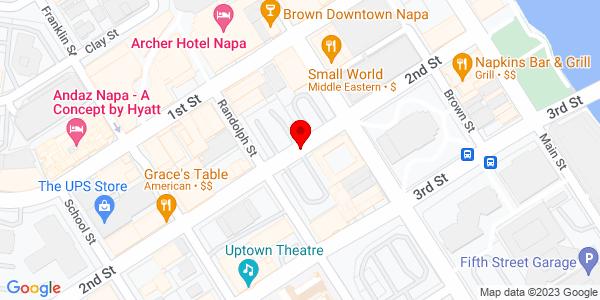 Google Map of +1855+Soscol+Avenue+Mso+To+Read%2A%2A%2A%2A+Napa+CA+94558