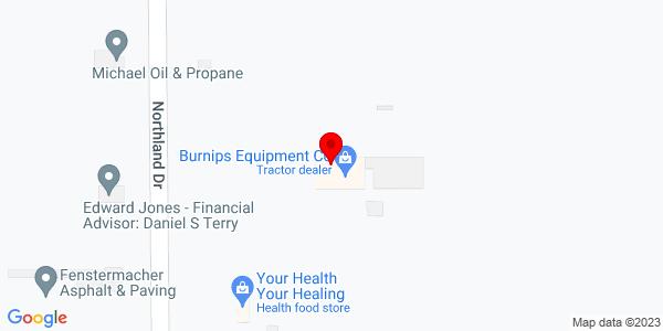 Google Map of +18612+Northland+Drive+Big+Rapids+MI+49307