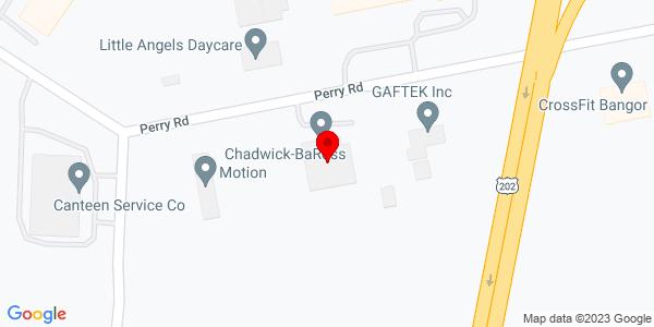 Google Map of +188+Perry+Road+Bangor+ME+04401