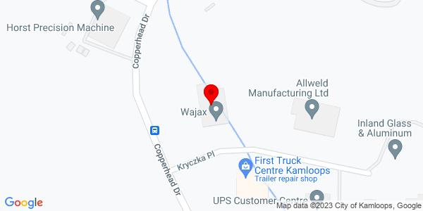 Google Map of +1880+Kryczka+Place++V1S+1S4+Kamloops+British+Columbia%2C+Canada++V1S+1S4