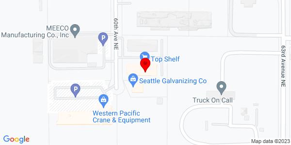 Google Map of +19705+60th+Ave+Blvd+Arlington+WA+98223