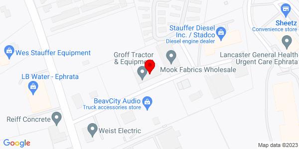 Google Map of +20+Stauffer+Lane+Ephrata+PA+17522
