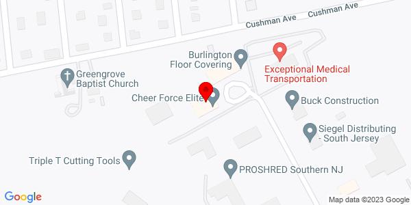 Google Map of +200+Allied+Parkway+%28Handling+Equipment%29+West+Berlin++NJ+08091