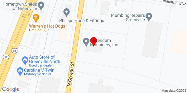 Google Map of +2002+N+Greene+Street+Greenville+NC+27834