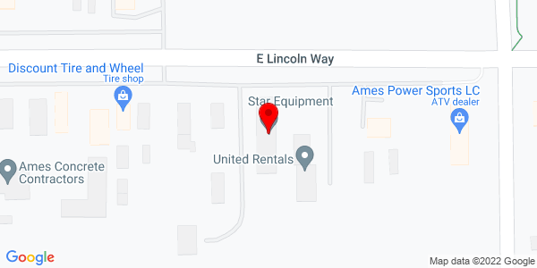 Google Map of +2100+E.+Lincoln+Way+Ames+IA+50010