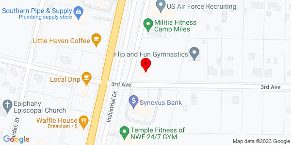 Google Map of +2106+Third+Avenue+Crestview+FL+32539