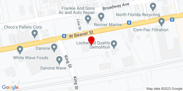 Google Map of +2136+West+Beaver+Street+Jacksonville+FL+32209