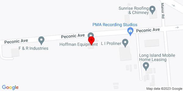 Google Map of +22+Peconic+Avenue+Medford+NY+11763