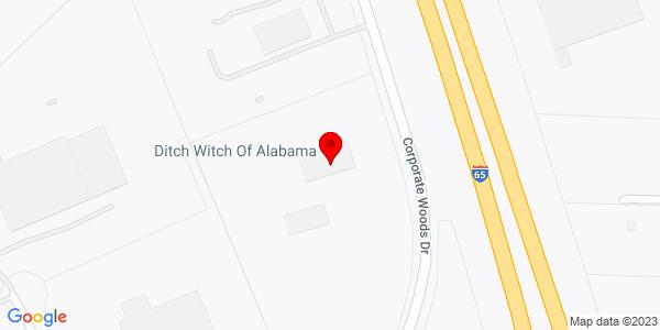 Google Map of +2200+Corporate+Woods+Drive+Birmingham+AL+35007