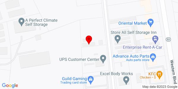 Google Map of +229+Center+Street+Jacksonville+NC+28546