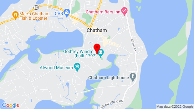 Google Map of 23 Old Turkey Farm Ln, Chatham, Chatham, MA 02633