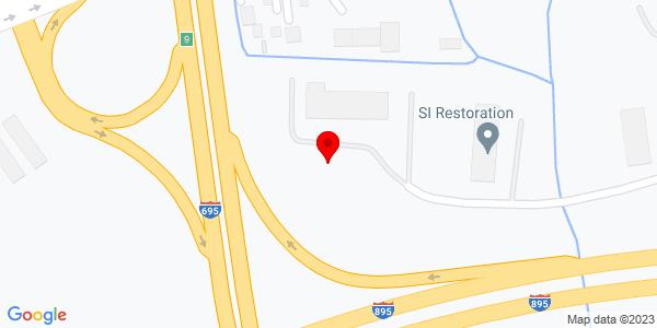 Google Map of +2300+Eskow+Avenue+Baltimore+MD+21227