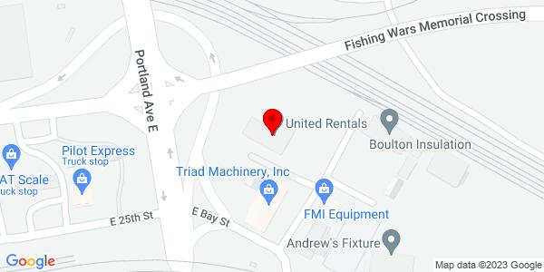 Google Map of +2302+East+Q+Street+Tacoma+WA+98421