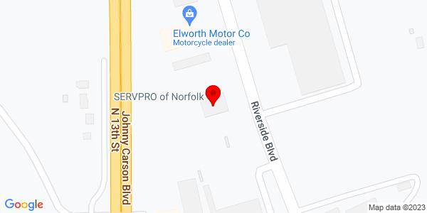 Google Map of +2303+Riverside+Blvd+Norfolk+NE+68701