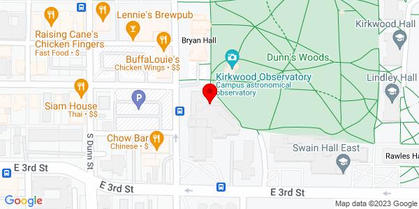 Google Map of +2305+N.+Industrial+Drive+Bloomington+IN+47404
