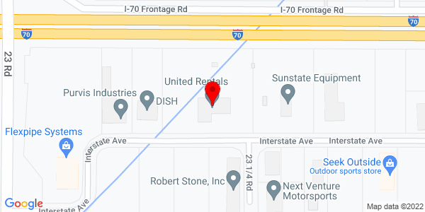 Google Map of +2316+Interstate+Avenue+Grand+Junction+CO+81505
