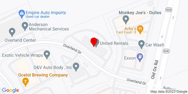 Google Map of +23535+Overland+Drive+Sterling+VA+20166