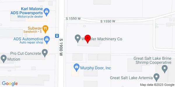 Google Map of +2366+South+1900+West+Ogden+UT+84401