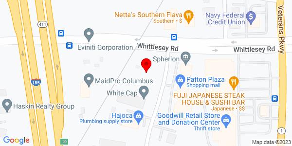 Google Map of +2400+Whittlesey+Rd+Columbus+GA+31909