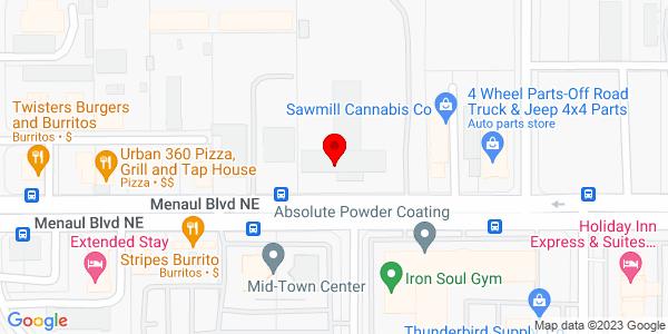Google Map of +2401+Menaul+N.E.+Albuquerque+NM+87107