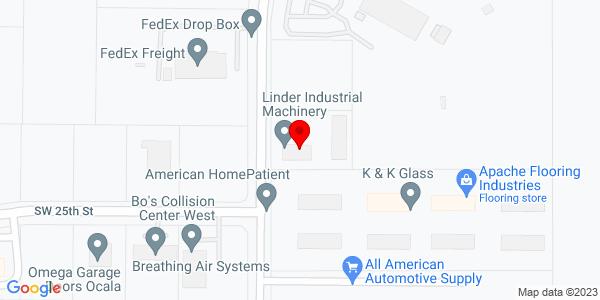 Google Map of +2441+SW+57th+Avenue+Ocala+FL+34474