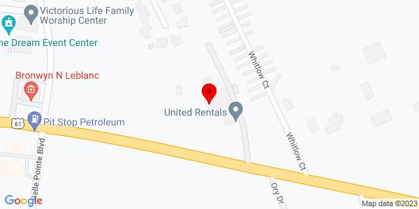 Google Map of +2500+W+Airline+Highway+La+Place+LA+70068