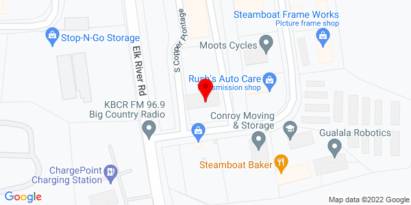 Google Map of +2530+S+Cooper+Frontage+Rd+Steamboat+Springs+CO+80487