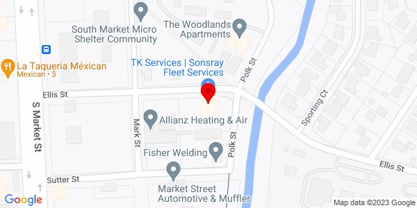 Google Map of +2535+Ellis+Street+Redding+CA+96001