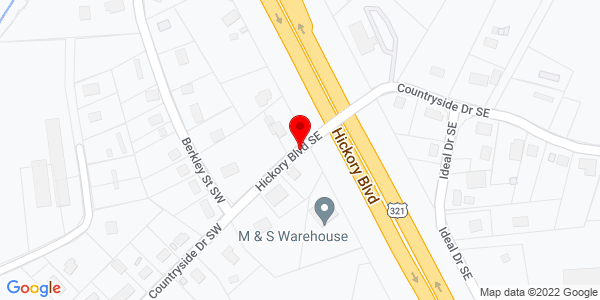 Google Map of +2566+Hickory+Blvd+SE+Lenoir++NC+28633