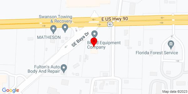 Google Map of +2578+SE+Baya+Drive+Lake+City+FL+32025