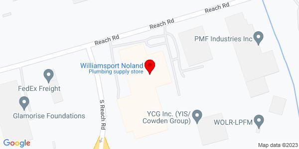 Google Map of +2605+Reach+Road+Williamsport+PA+17701