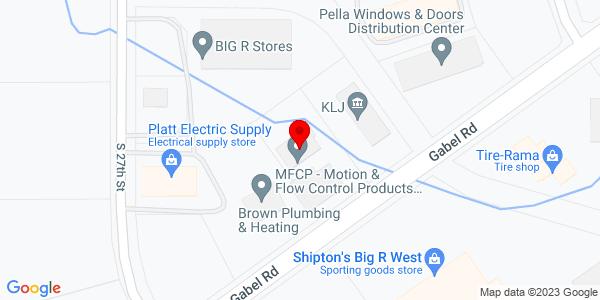 Google Map of +2651+Gabel+Rd+Billings+MT+59102