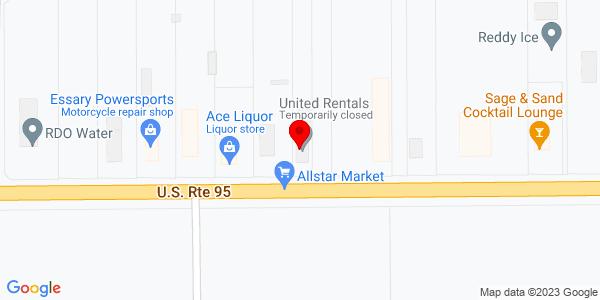 Google Map of +2720+East+16Th+Street+%28Hwy+95%29+Yuma+AZ+85365