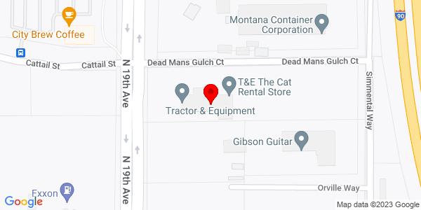 Google Map of +2770+North+19th+Avenue+Bozeman+MT+59718