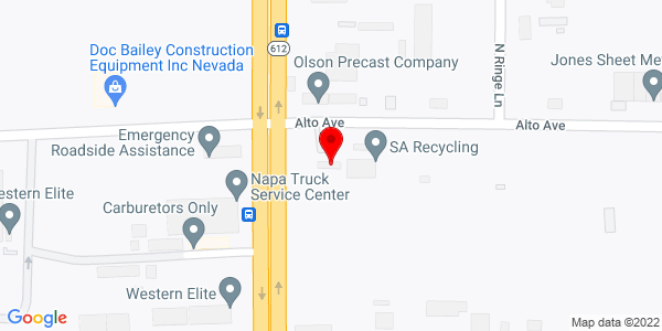 Google Map of +2780+North+Nellis+Blvd.+Las+Vegas+NV+89115
