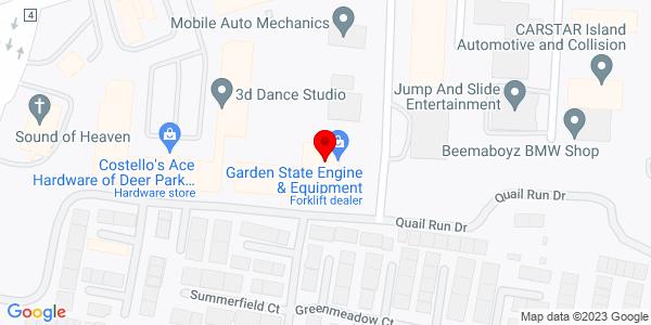 Google Map of +28+Brandywine+Drive+Deer+Park+NY+11729